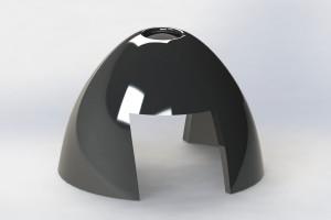 HYPER Spinner POWER black spare Cone 38 mm